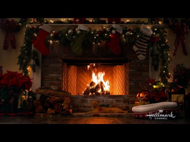Hallmark Channel S Holiday Yule Log Youtube