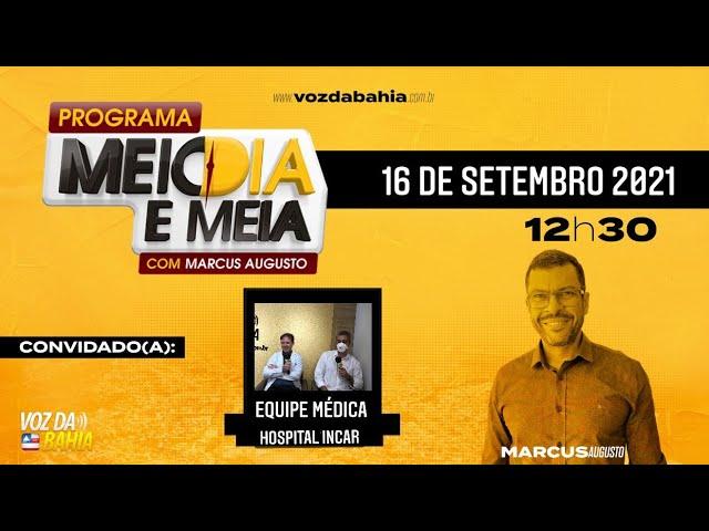 Programa Meio dia e meia LIVE com Dr. Arthur Gonzalez, cardiologista e Dr. Bernardo Salles e IUR