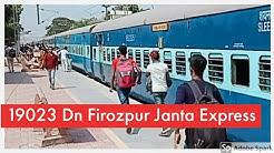 19023 Firozpur Janta Express, Mumbai Central to Firozpur