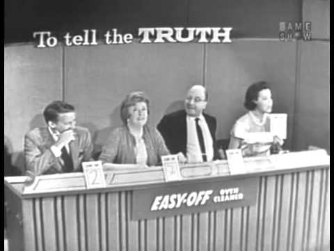 To Tell the Truth  Commissioner of Indian affairs; PANEL: Abe Burrows Oct 28, 1963