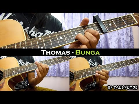 Thomas - Bunga (Instrumental/Full Acoustic/Guitar Cover)