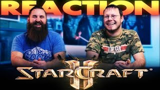Star Craft 2 Honest Trailer REACTION!!