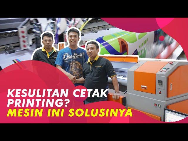 Rekomendasi Mesin Digital Printing merk Reckon, Lebih Murah dari yang Lain
