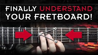 easy note location tricks | guitar fretboard memorization exercises