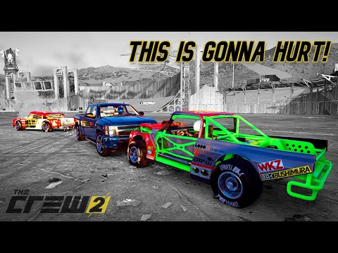 The RETURN Of DEMO DERBY!   The Crew 2  
