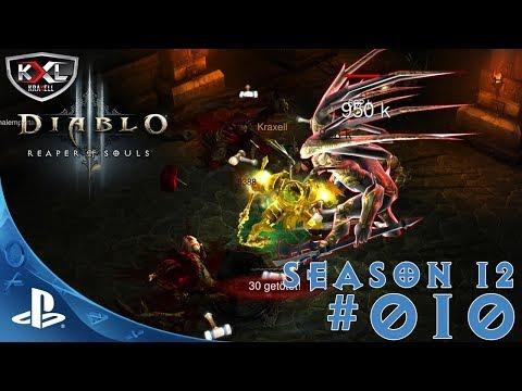 DIABLO 3 [PS4 Pro   UEE   SEASON 12 ] #010 - Zu den Schnitten geritten ➥ Let's Play