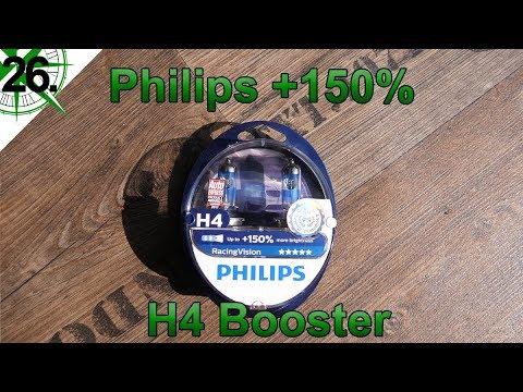 Innenausbau | Philips +150% & H4 Booster Einbau | vom VW T4 Syncro Transporter zum Camper | # 26.