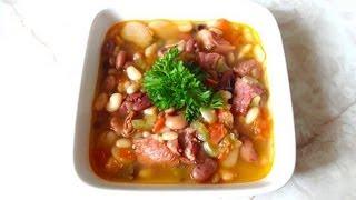 Sopa de 15 Frijoles - Receta