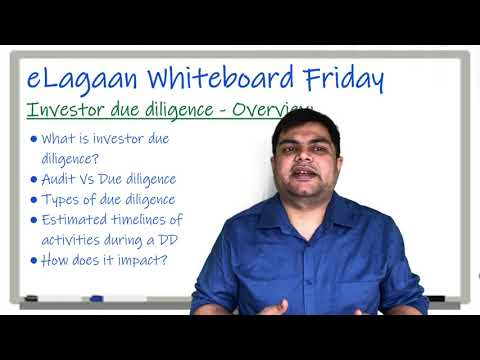 Investor due diligence - Overview [Whiteboard Friday]