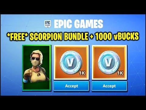 *NEW* Fortnite Update - *FREE* Scorpion SKIN + 1000 vBUCKS (HOW TO & RUSSIA ONLY), STORMWING UNVAULT thumbnail