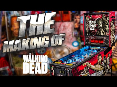 Making of Walking Dead Pinball from Stern Pinball