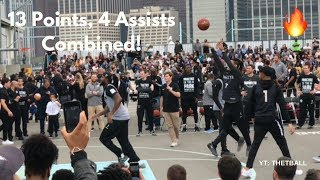 Jeremy Lin & D'Angelo Russell Highlights at Nets Open Practice   13 Pts, 4 Asts   Brooklyn Nets