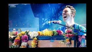 Coldplay playing