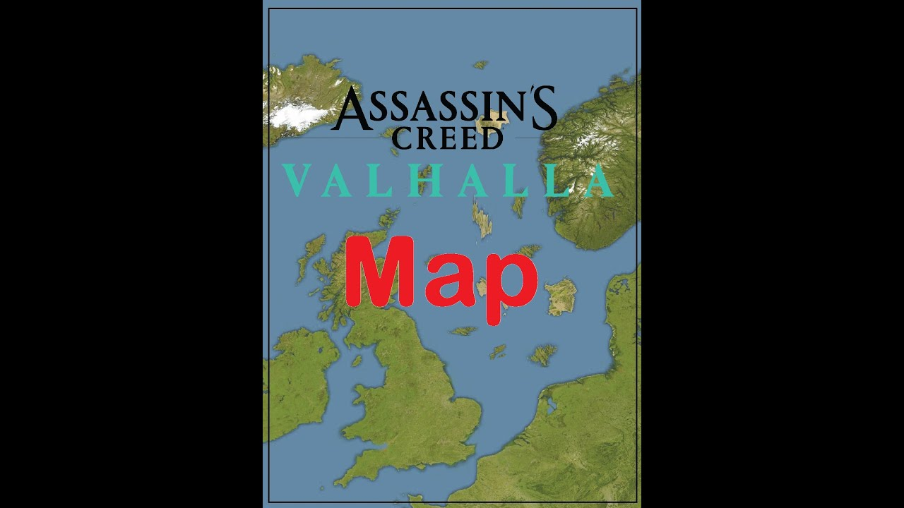 Assassin S Creed Valhalla Map Youtube