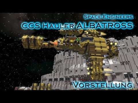 Die Albatross - Schiffsvorstellung - Space Engineers
