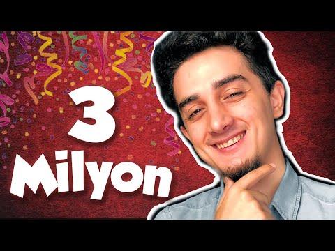 3 MİLYON ABONEYE ÖZEL VİDEO!