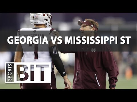 Sports BIT | Georgia Bulldogs vs. Mississippi St. Bulldogs | Week 4 Betting Preview