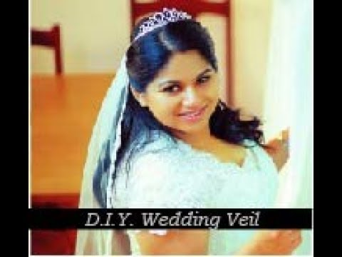 Diy Wedding Veil Tutorial And Easy