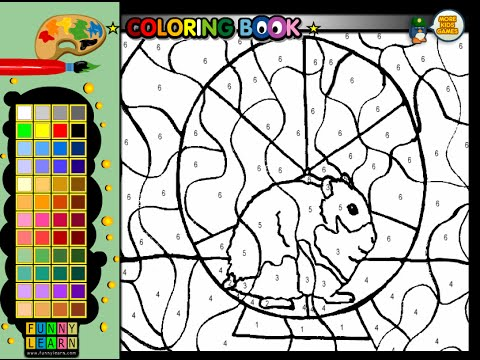 Hamster Coloring Pages For Kids - Hamster Coloring Pages - YouTube