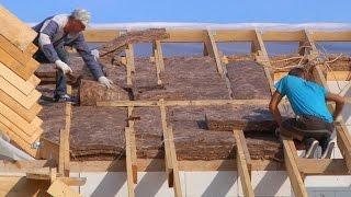 Технология утепления мансардной крыши - советы как правильно утеплить изнутри своими руками, материалы и схема, видео