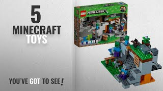 Top 10 Minecraft Toys [2018]: LEGO Minecraft the Zombie Cave 21141 Building Kit (241 Piece)