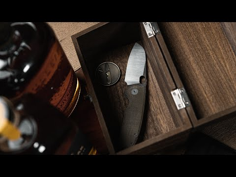 Urban EDC F5 5 Knife Review | OD Green Micarta