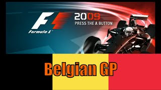 RACE FROM HELL! | F1 2009 Game | Belgian GP
