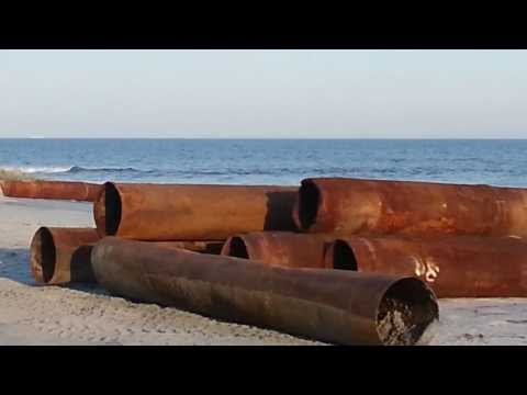 Folly Beach SC - Beach Renourishment February 2014