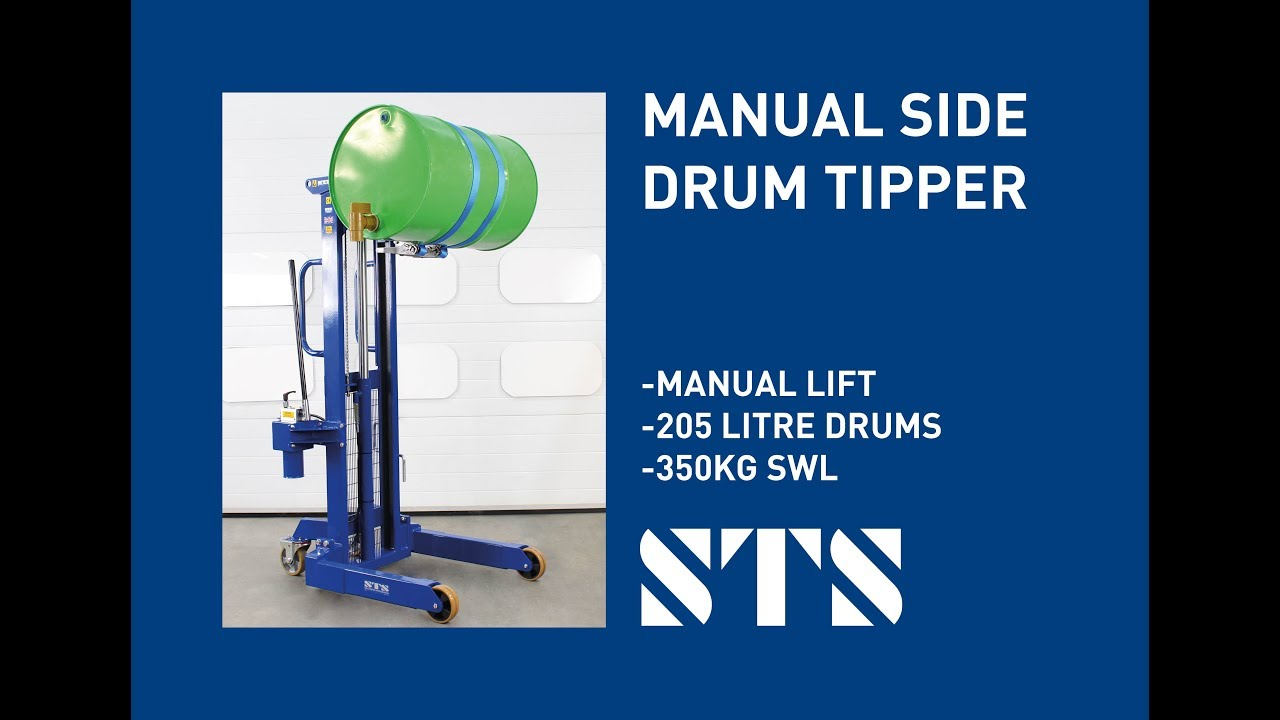 Manual Drum Lifter Rotator