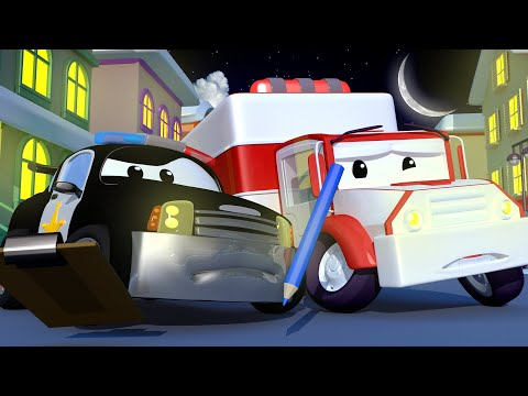 All the Christmas Decorations From Car City Have Disappeared! - The Car Patrol in Car City l Cart...