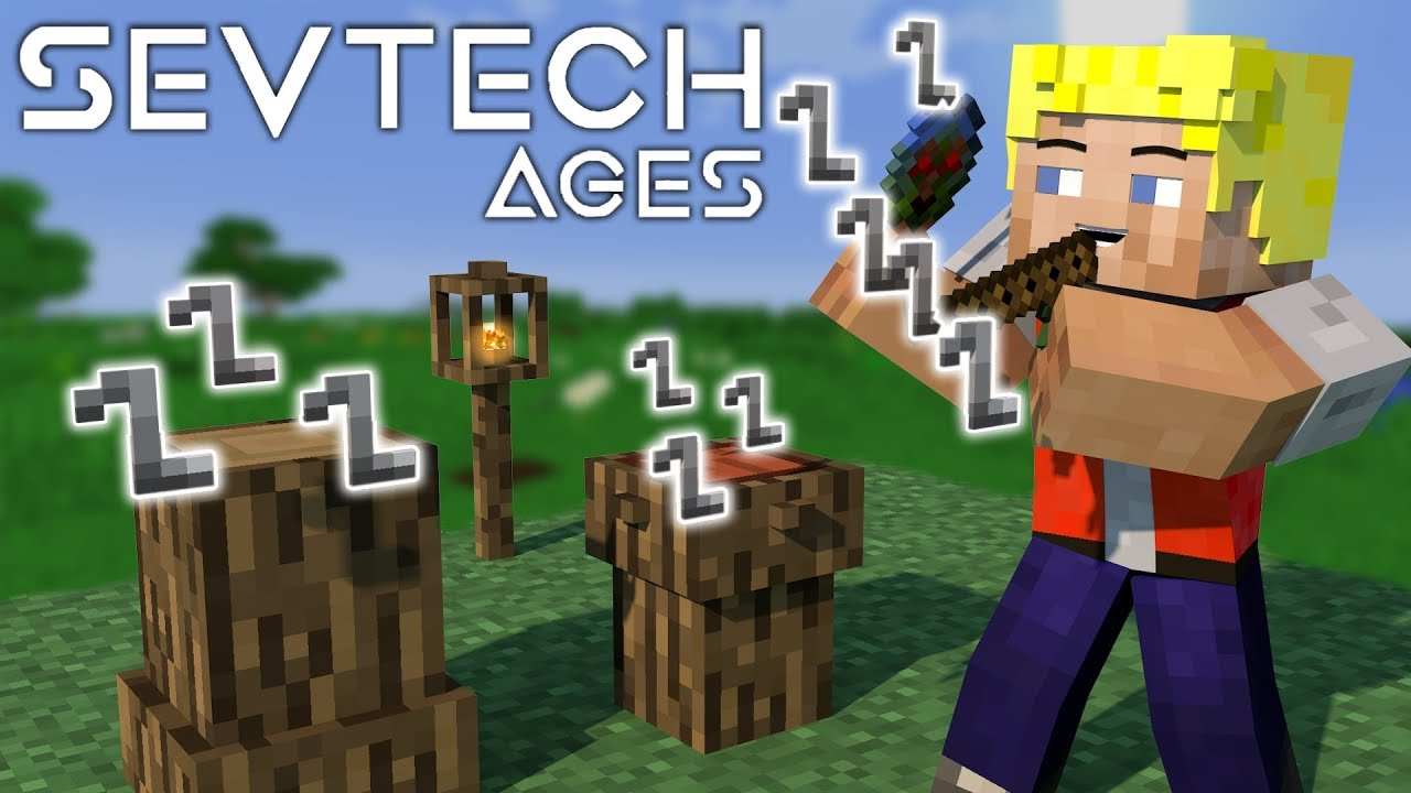 Super Cooles Totemic Ritual! Buffalo Dance Ceremony - #6 SevTech Ages  (Stage Zero)