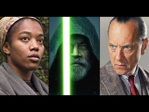 Star Wars 9 Brings in Richard E. Grant and Naomi Ackie