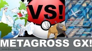 Pokemon Metagross GX VS GX Army! PTCGO Jenna Em