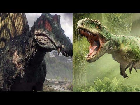 JW 2 Super Fight - Spinosaurus vs Giganotosaurus