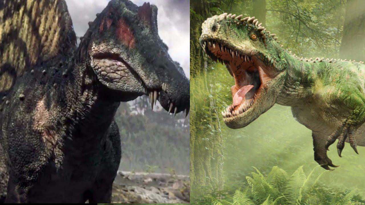 JW 2 Super Fight - Spinosaurus vs Giganotosaurus - YouTubeGiganotosaurus Vs Spinosaurus