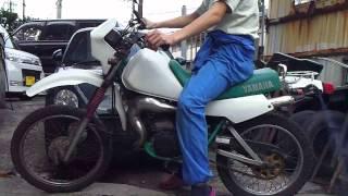 ヤマハ DT50 キック始動動画 レストア
