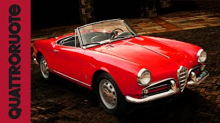 Alfa Romeo Giulietta Spider 1955 Test Drive