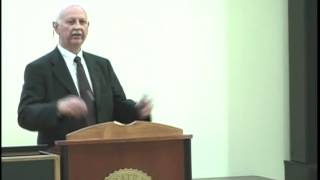 2011 Albert W Johnson Lecture - John Weeks Thumbnail