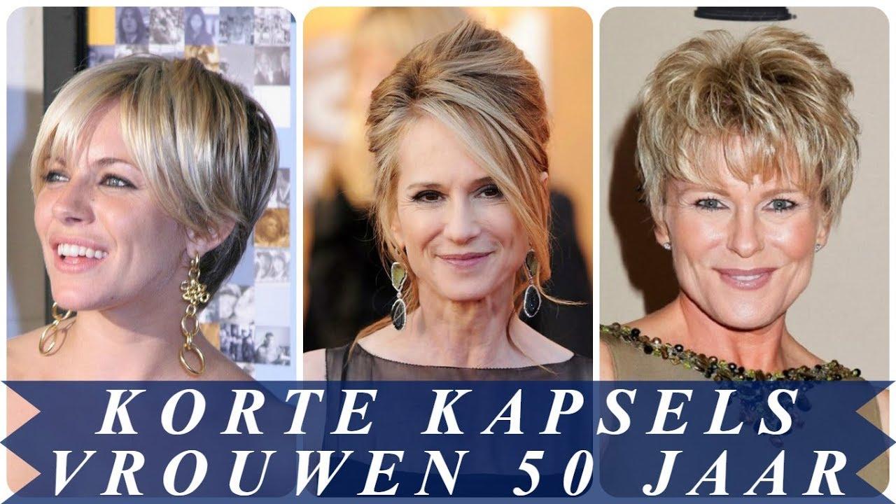 Super Korte kapsels voor vrouwen boven de 50 jaar 2018 - YouTube @IA63