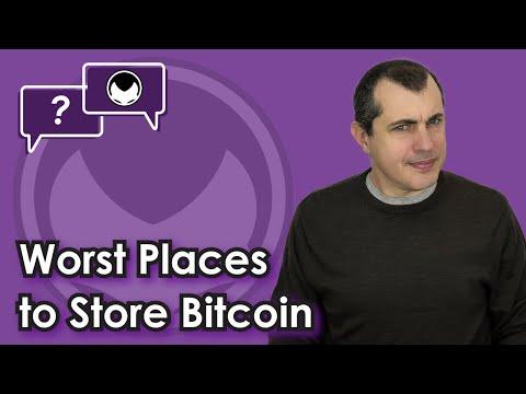 WORST Ways to Store Bitcoin [3 Mistakes to Avoid]