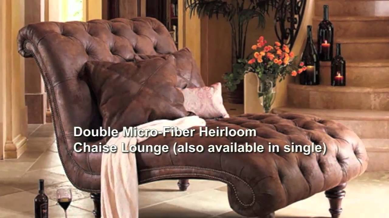 Superior Heirloom Chaise Lounge Collection From NapaStyle