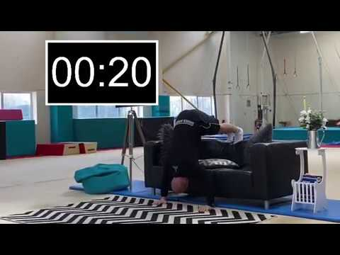 coach vs gymnast challenge  headstand to handstand  youtube