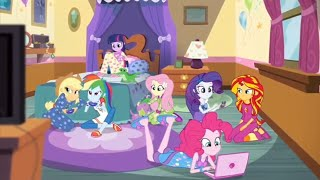 Una Junta Nocturna en la Casa Pinkie || MLP: EG-Rainbow Rocks
