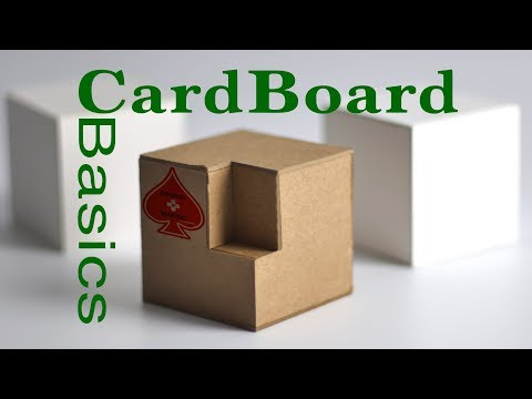 CardBoard Basics Tutorial Guide Chip/Matte Board model making: modeling for Designers & Architects