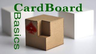 CardBoard Basics Tutorial Guİde Chip/Matte Board model making: modeling for Designers & Architects