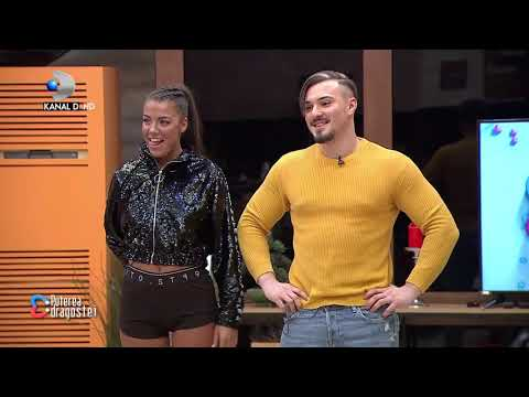 Puterea dragostei (01.01.) - Dansuri patimase intre concurenti! Roxana si Adelin au facut spectacol!