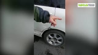 В Бишкеке прохожий разбил лицо инспектору УОБДД из-за эвакуации его автомобиля