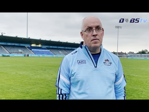Dublin U20s Football Manager Tom Gray reacts to victory over Wicklow