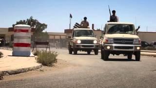 بأوامرالقائد العام للقوات المسلحة العربية الليبية  تحركت جزء من الواحدت العسكرية بأتجاه مدينة سرت