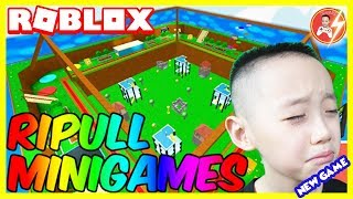 Roblox | MrDFLASH Phi Dao Cực Đỉnh - #Roblox [New] Ripull Minigames | Mr.D-Flash